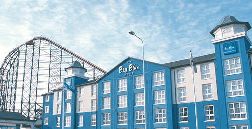 Big Blue Hotel, one of the best family friendly hotels in Blackpool