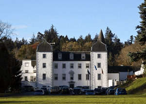 Barony Castle, one of the most romantic castle hotels in Scotland