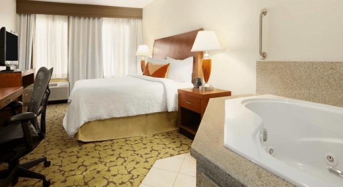 A Whirlpool suite in Hilton Garden Inn Scottsdale North, Perimeter Center, Phoenix