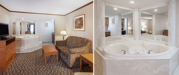 Hot Tub Suite in Baymont by Wyndham Canton Hotel, Michigan