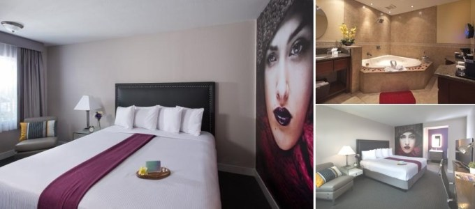 Room with Jacuzzi in Iris Hotel - Mission Valley San Diego