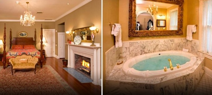 Room with Jacuzzi in Dr. Phillips House in Orlando Downtown