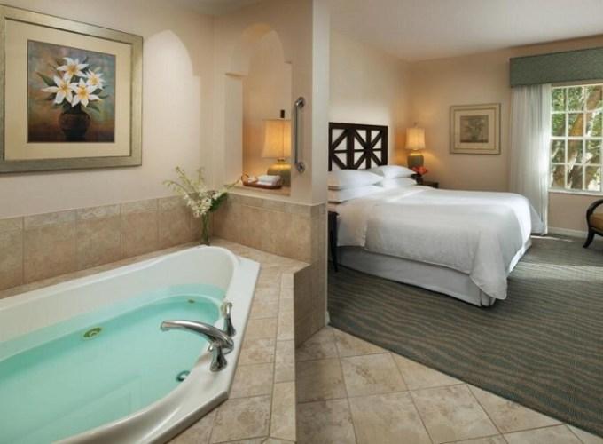 Room with Jacuzzi in Sheraton Vistana Resort Villas, Lake Buena Vista Orlando, Florida