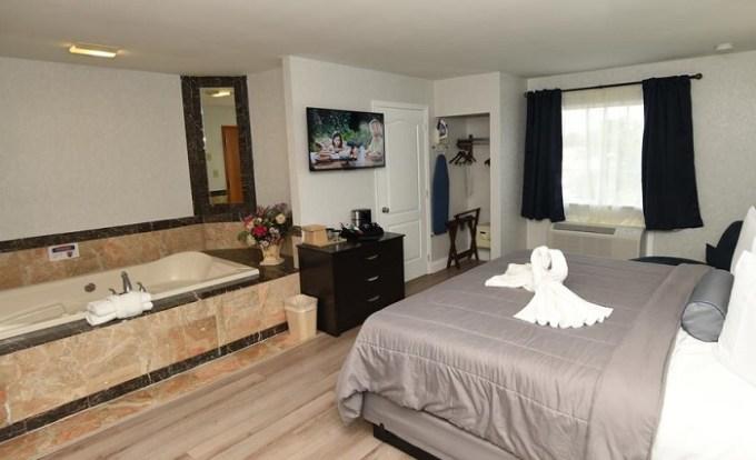 Jacuzzi room in FairBridge Hotel Atlantic City Hotel