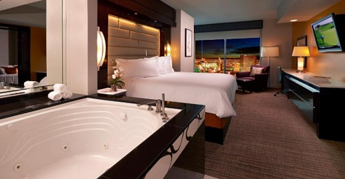9 Romantic Hotels With Hot Tub In Room In Las Vegas