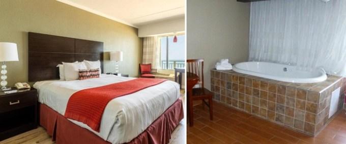 Oceanfront room with private Whirlpool in Best Western Plus Sandcastle Beachfront Hotel Virginia Beach