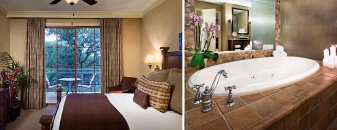 Suite with private spa bath in Hyatt Residence Club San Antonio, Wild Oak Ranch