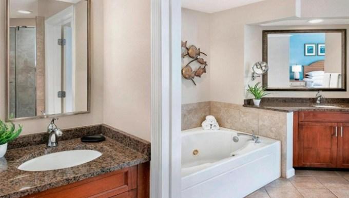 In-room Whirlpool in Sheraton Broadway Plantation Resort Villas, Myrtle Beach, South Carolina