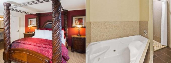 Jacuzzi suite in Best Western Plus Georgetown Inn & Suites, Texas
