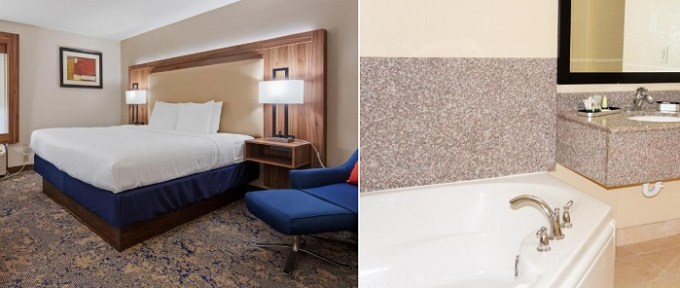 Room with a whirlpool tub in Best Western Plus Kansas City Airport - KCI East, MO