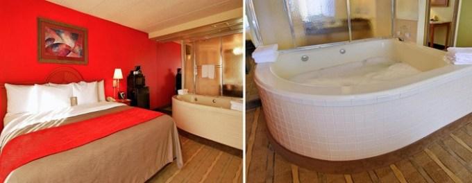 Suite with Whirlpool in Comfort Inn University Center, Fairfax, VA near Washington DC
