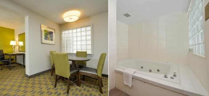 Suite with private Whirlpool in Hampton Inn Myrtle Beach-Northwood, SC