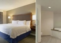 Room with a Jacuzzi in Hampton Inn & Suites Nashville Downtown Hotel