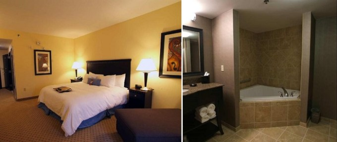 Room with a hot tub in Hampton Inn & Suites Mount Juliet Hotel, TN