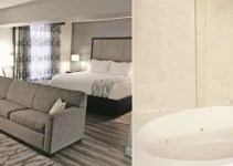 Whirlpool suite in La Quinta by Wyndham Raleigh Downtown North, NC