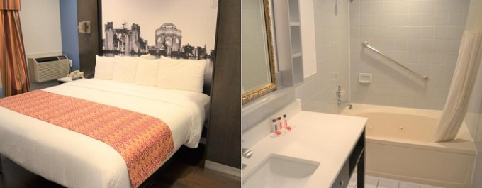 Room with Jacuzzi in Super 8 by Wyndham San Francisco-Near the Marina Hotel, CA