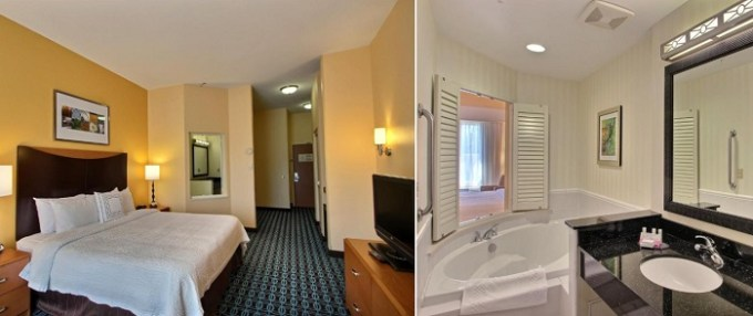 A Room with Whirlpool in Fairfield Inn & Suites by Marriott Milwaukee Airport Hotel, WI