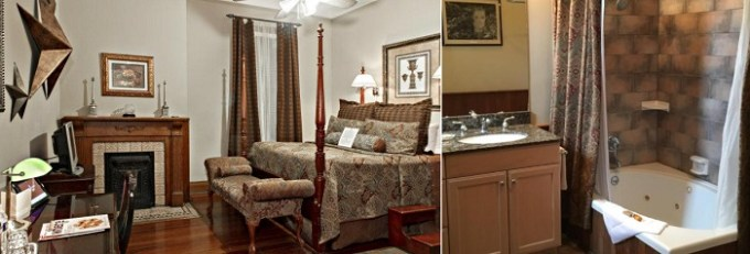 Suite with Jacuzzi in the room in 1896 O'Malley House, New Orleans