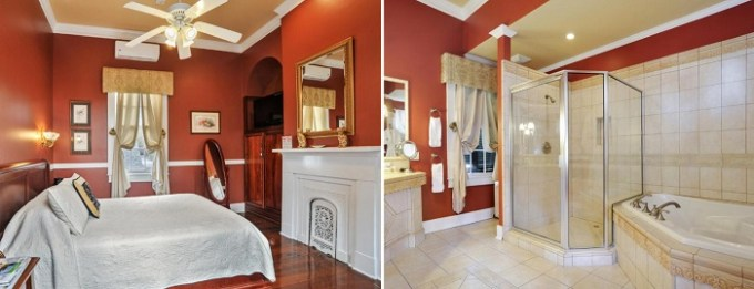 Suite with a whirlpool tub in Ashton's Bed and Breakfast, New Orleans
