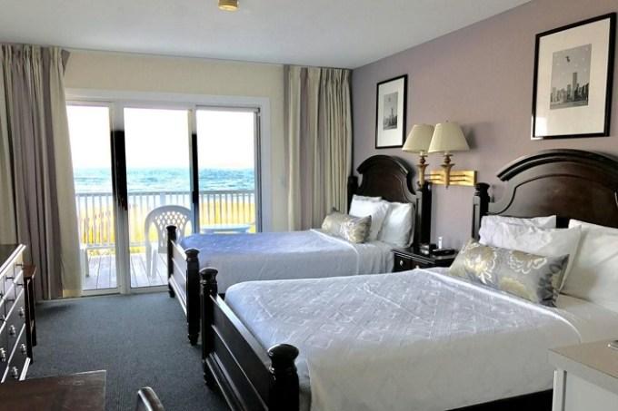 Beach suite in Ocean Surf Resort, the Hamptons, NY