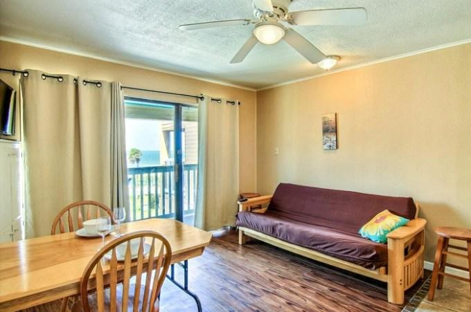 Beachfront hotel condo in Villa Del Sol Surfside, Corpus Christi, TX