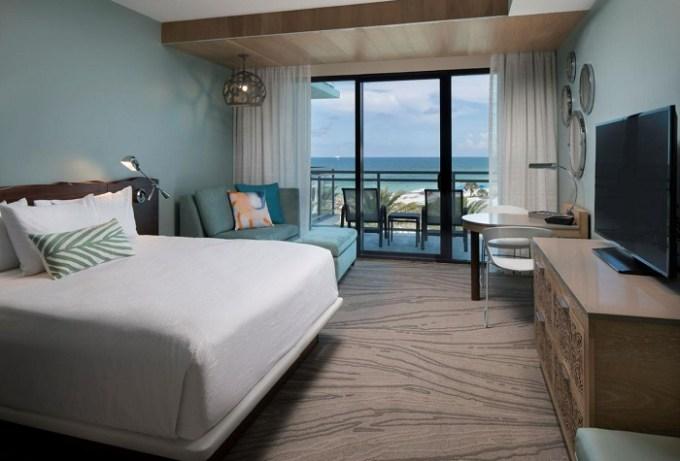 Beachfront suite in Zota Beach Resort, near Sarasota, FL