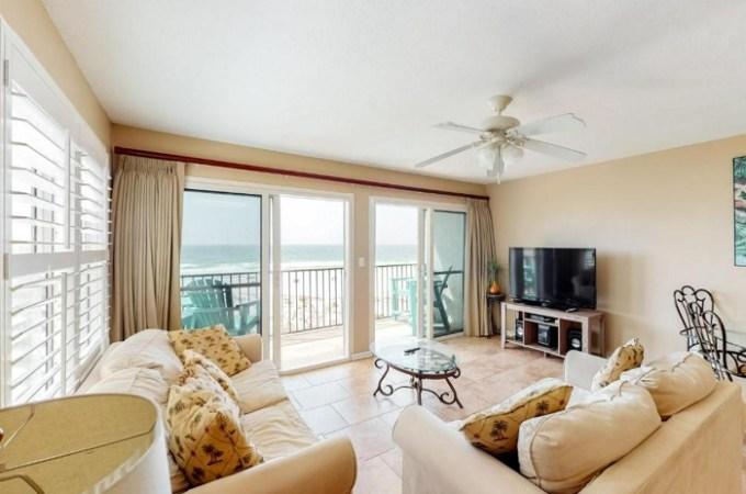 Beachfront vacation rental in Windancer Condominiums, Destin, Florida
