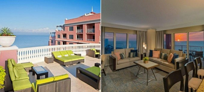 Oceanfront room in Hyatt Regency Clearwater Beach Resort & Spa, near Orlando, FL