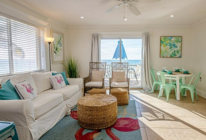 Oceanfront suite in Anna Maria Island Inn, near Sarasota, Florida
