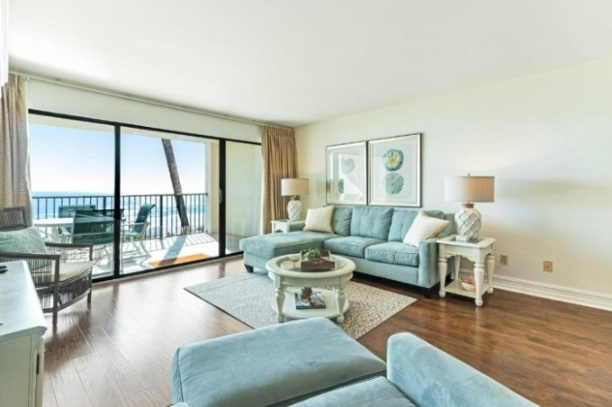 Oceanfront suite in Huntington by the Sea hotel, Destin, Florida