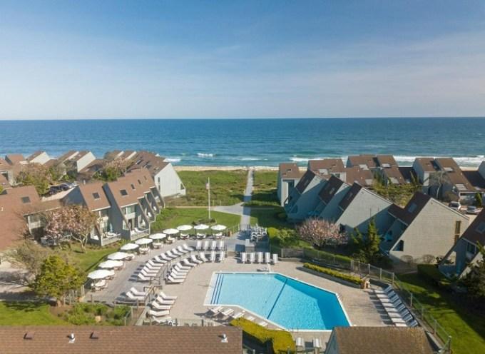 The beachfront Surf Club Resort, the Hamptons, NY