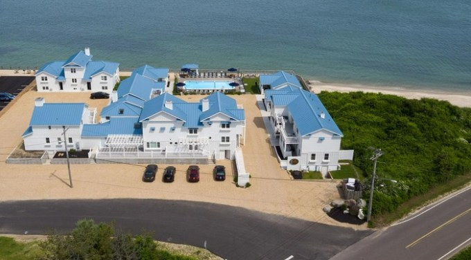 The beachfront The Montauk Soundview, in the Hamptons, NY