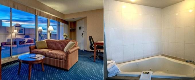 Hot Tub Suite in Best Western Plus Suites Downtown Calgary, Alberta, Canada
