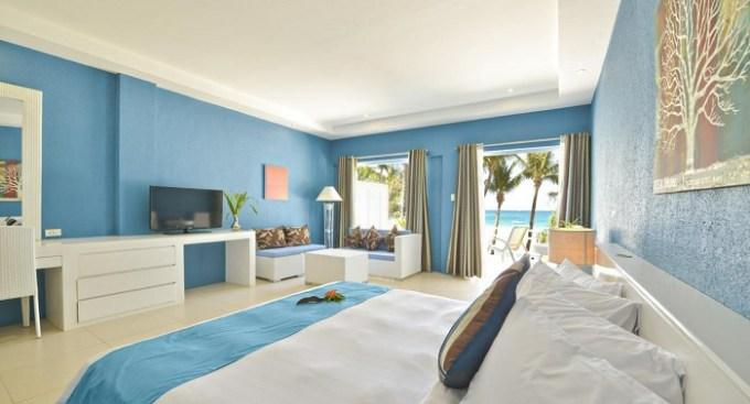 Oceanfront hotel suite in Le Soleil de Boracay Hotel, Philippines