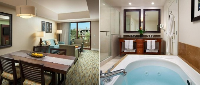 Suite with a Whirlpool in The Westin Desert Willow Villas, Palm Desert, near Palm Springs, CA