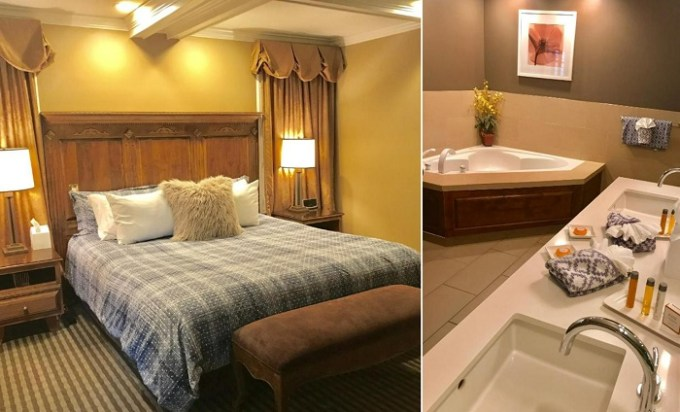 Suite with a hot tub in East Canyon Hotel and Spa - Adults 18+ Only, Palm Springs, CA
