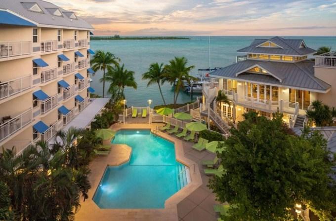 The oceanfront Hyatt Centric Key West Resort & Spa, Key West, Florida