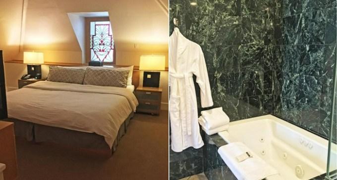 А Hot tub suite in Morris House Hotel, Philadelphia, PA