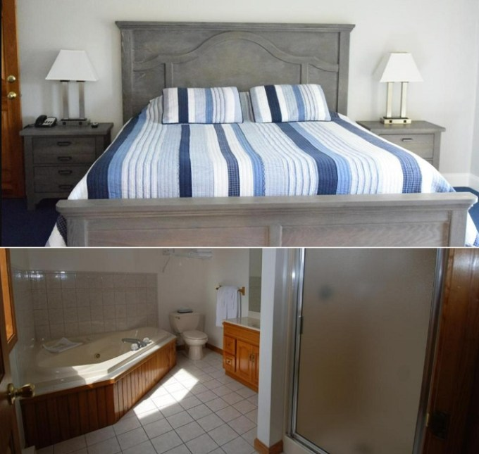 Jacuzzi room in Rhea's Inn By the Sea, Middletown, RI