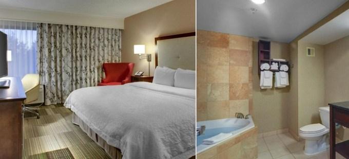 Jacuzzi suite in Hampton Inn Greenville-Woodruff Road, SC