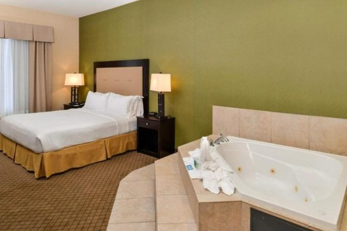Whirlpool suite in Holiday Inn Express Woodland, an IHG Hotel, Sacramento, CA