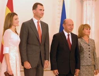 Felipe şi Letizia –pentru prima dată în România