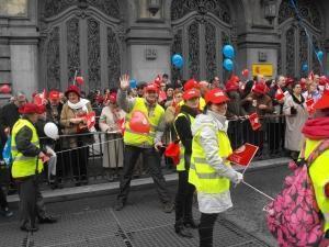 Madrid: Români printre manifestanţii împotriva Legii Avortului