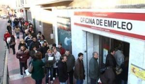 Şomerii pregătesc o coadă de la Parlament până la Guvernul Spaniei