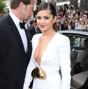 Cheryl Cole intr-o rochie sexy la Cannes
