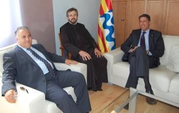 Senatorul Badea ii face campanie lui Xavi Albiol, primarul xenofob al Badalonei