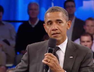 Obama ne arata cu degetul in plina criza