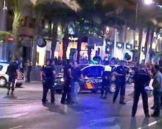 Jaf armat ca-n filme la Alicante