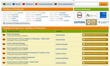 CURSOS.ROMANUL.EU – cursurile de formare profesionala din Spania la un click distanta!