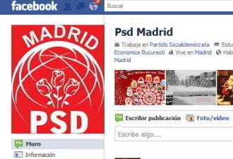 Filialele PSD si PC de la Madrid organizeaza un protest impotriva guvernului din Romania